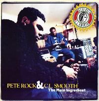 PETE ROCK & C.L.SMOOTH / ピート・ロック&C.L.スムース / MAIN INGREDIENT アナログ2LP
