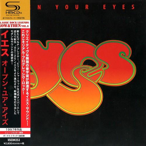YES / イエス / オープン・ユア・アイズ - SHM-CD