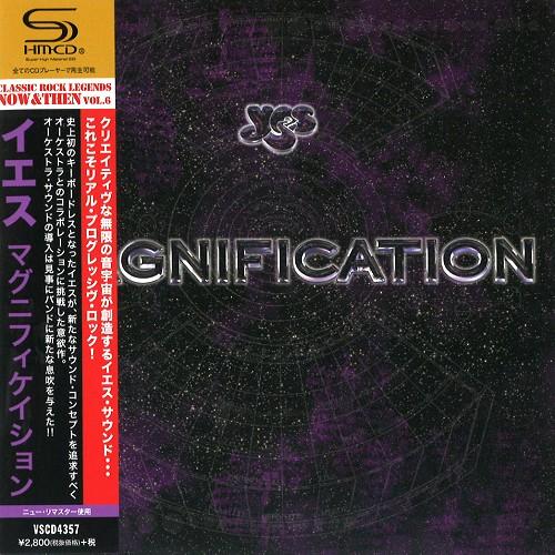YES / イエス / マグニフィケイション - SHM-CD