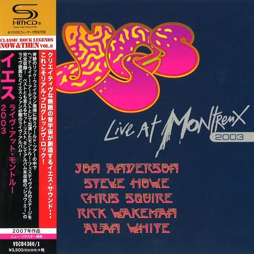 YES / イエス / ライヴ・アット・モントルー2003 - SHM-CD