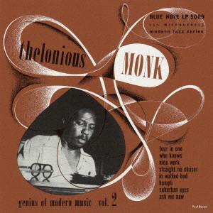 THELONIOUS MONK / セロニアス・モンク / コンプリート・ジーニアス・オブ・モダン・ミュージック Vol. 2