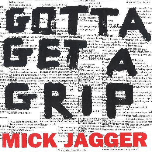 MICK JAGGER / ミック・ジャガー / ガッタ・ゲット・ア・グリップ/イングランド・ロスト