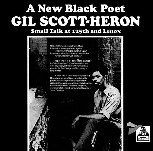 GIL SCOTT-HERON / ギル・スコット・ヘロン / スモール・トーク・アット・125丁目レノックス通り
