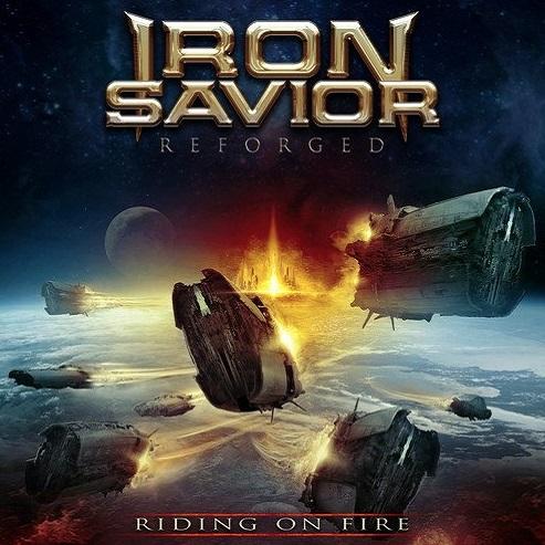 IRON SAVIOR / アイアン・セイヴィアー / RIDING ON FIRE / ライディング・オン・ファイア