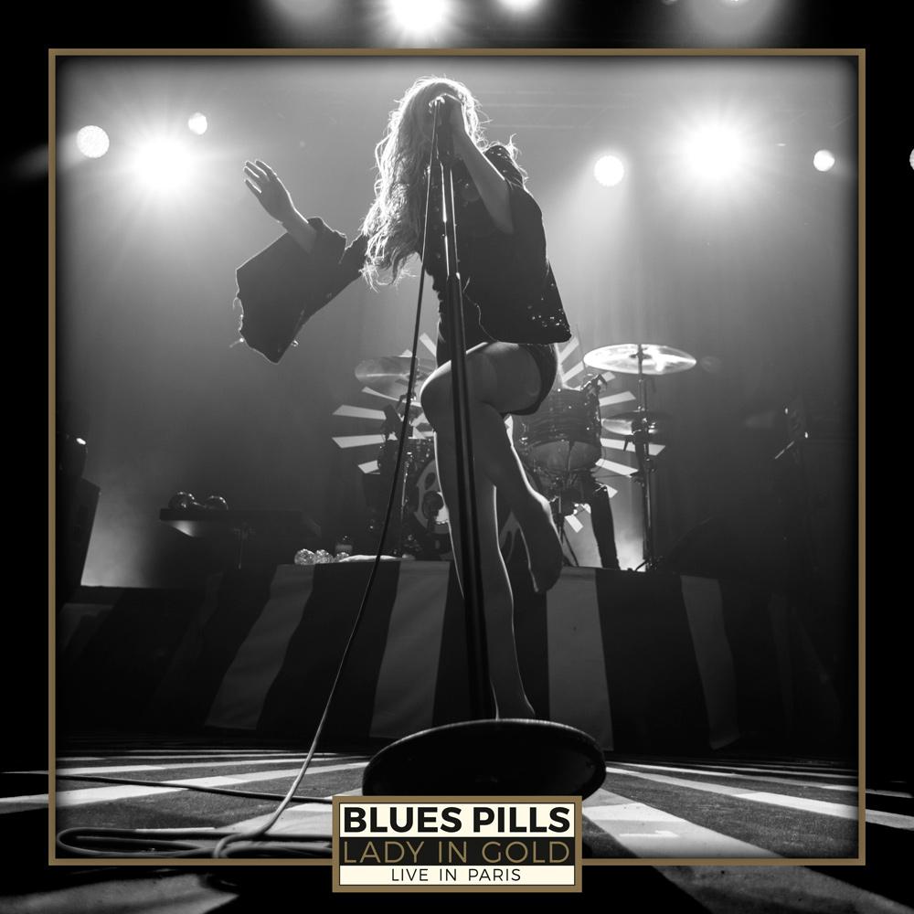 BLUES PILLS / ブルーズ・ピルズ / LADY IN GOLD - LIVE I N PARIS  / レディー・イン・ゴールド~ライヴ・イン・パリ