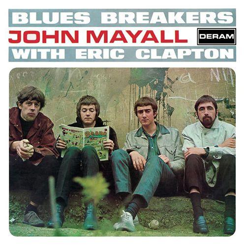 JOHN MAYALL & THE BLUESBREAKERS / ジョン・メイオール&ザ・ブルースブレイカーズ / JOHN MAYALL & THE BLUES BREAKERS WITH ERIC CLAPTON / ジョン・メイオール&ザ・ブルースブレイカーズ・ウィズ・エリック・クラプトン