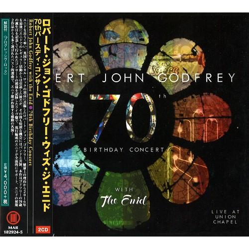 ロバート・ジョン・ゴドフリー with ジ・エニド / 70TH BIRTHDAY CONCERT: LIVE AT UNION CHAPEL / 70TH バースディ・コンサート
