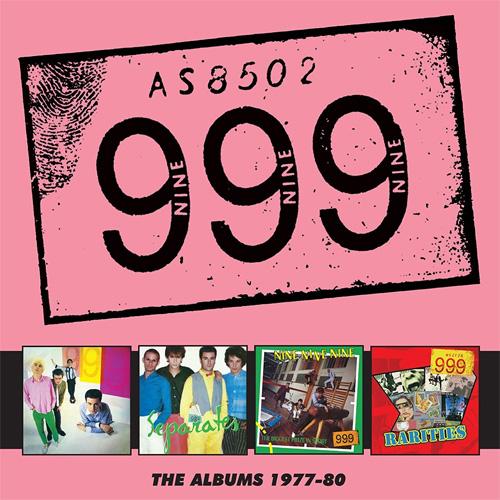 999 / ナインナインナイン / ALBUMS 1977-80: 4CD BOXSET