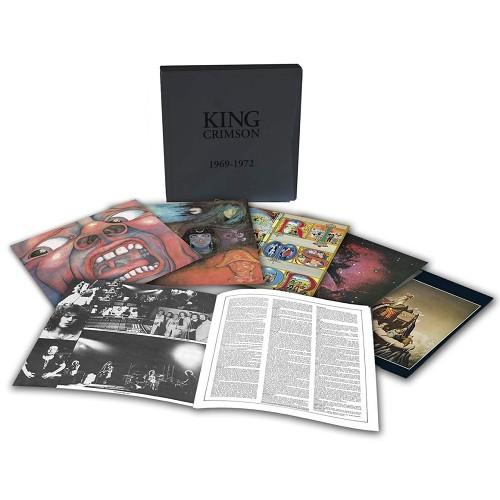 KING CRIMSON / キング・クリムゾン / 1969 - 1972: LIMITED EDITION VINYL BOXED SET - 200g LIMITED VINYL  / 紅王朝記 1969-1972 アナログ・ボックス1 - 200g LIMITED VINYL