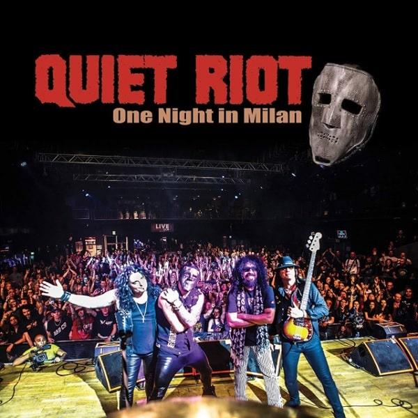 QUIET RIOT / クワイエット・ライオット / ONE NIGHT IN MILAN / ワン・ナイト・イン・ミラン<2CD+DVD>