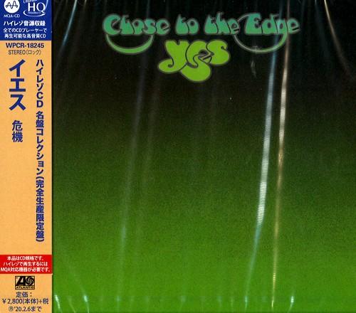 YES / イエス / CLOSE TO THE EDGE - MQA-CD/UHQ-CD / 危機 - MQA-CD/UHQ-CD