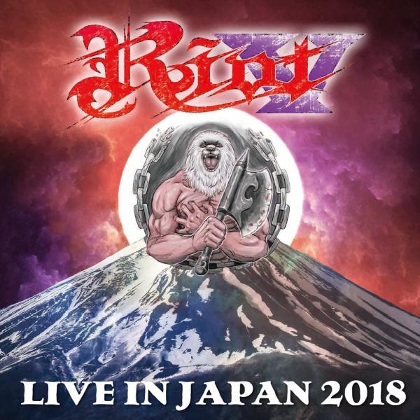 RIOT (RIOT V) / ライオット / LIVE IN JAPAN 2018<BLU-RAY+2CD>