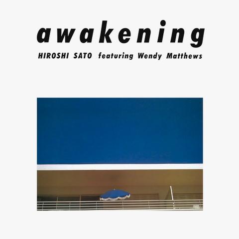 佐藤博/アウェイクニング -Clear Blue Vinyl-(完全生産限定盤 アナログLP)