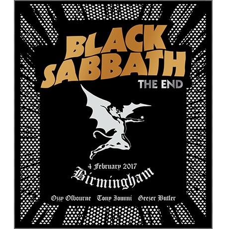 BLACK SABBATH / ブラック・サバス / THE END / ジ・エンド~伝説のラスト・ショウ<ブルーレイ>