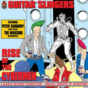 "RISE OF THE CYBERMEN (7"")/GUITAR SLINGERS/ギタースリンガーズ|PUNK ..."