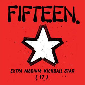 FIFTEEN / フィフティーン / EXTRA MEDIUM KICK BALL STAR (LP)