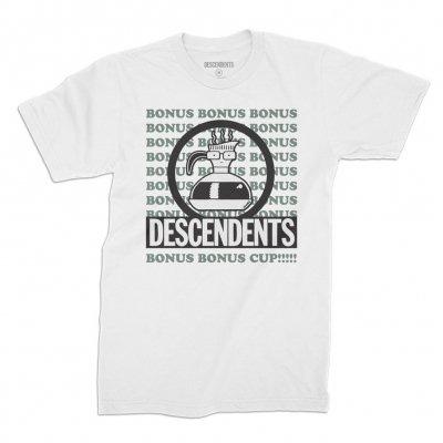 DESCENDENTS / BONUS BONUS CUP TEE (M-SIZE)