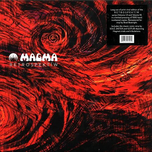 MAGMA / RETROSPEKTÏW: 1,500 COPIES LIMITED TRIPLE VINYL