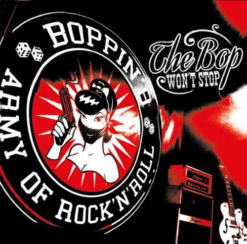 BOPPIN' B / ボッピンビー / BOP WON'T STOP (LP)