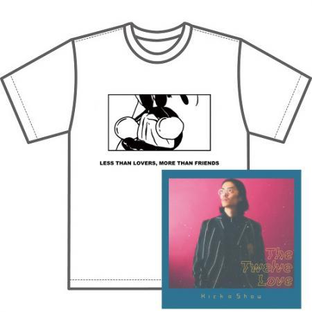 KICK A SHOW / The Twelve Love★ディスクユニオン限定Tシャツ付セットMサイズ