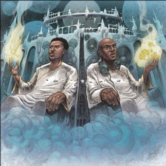 "BLU & NOTTZ / ブルー&ノッツ / GODS IN THE SPIRIT, TITANS IN THE FLESH ""LP"""