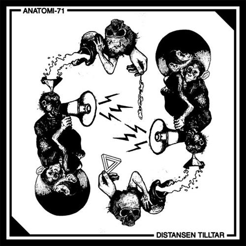 ANATOMI-71 / DISTANSEN TILLTAR (LP)