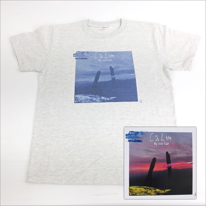 CALM / カーム / バイ・ユア・サイド (Tシャツ付きセット:S)