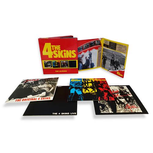 4 SKINS / フォースキンズ / ALBUMS: 4CD CLAMSHELL BOXSET