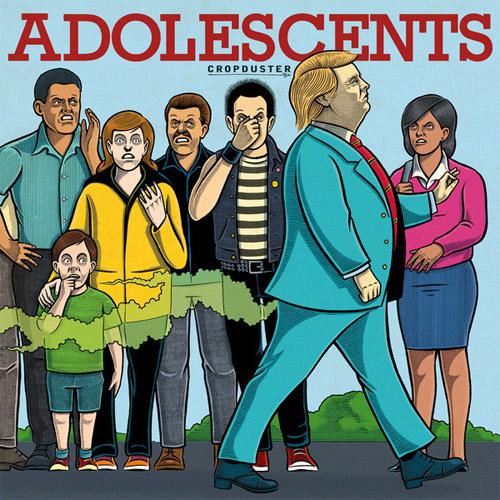 ADOLESCENTS / アドルセンツ / CROPDUSTER