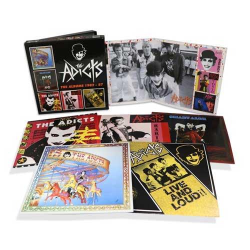 ADICTS / アディクツ / ALBUMS 1982-87: 5CD CLAMSHELL BOXSET