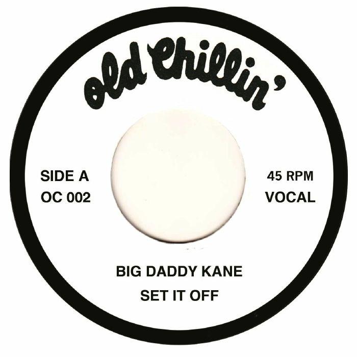 """BIG DADDY KANE / ビッグ・ダディ・ケイン / SET IT OFF 7"""""""