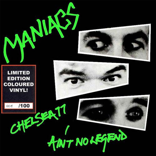 "MANIACS / マニアックス / CHELSEA 77 (7""/GREEN VINYL)"