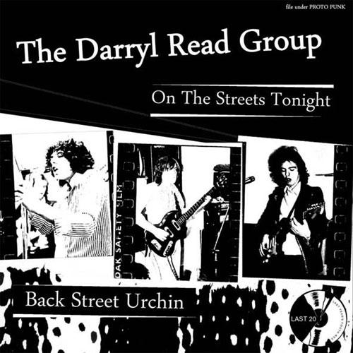 "DARRYL READ GROUP / ON THE STREET TONIGHT (7"")"
