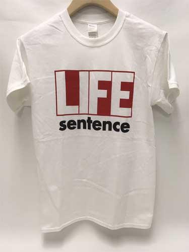 LIFE SENTENCE / ライフセンテンス / WHITE (M)