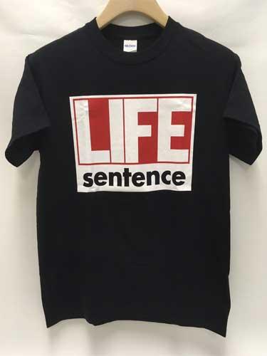 LIFE SENTENCE / ライフセンテンス / BLACK (M)