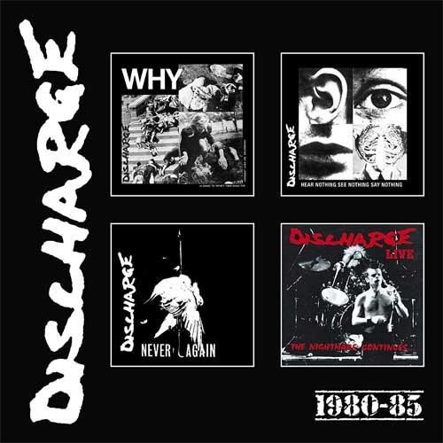 DISCHARGE / ディスチャージ / 1980-1985:4CD BOX