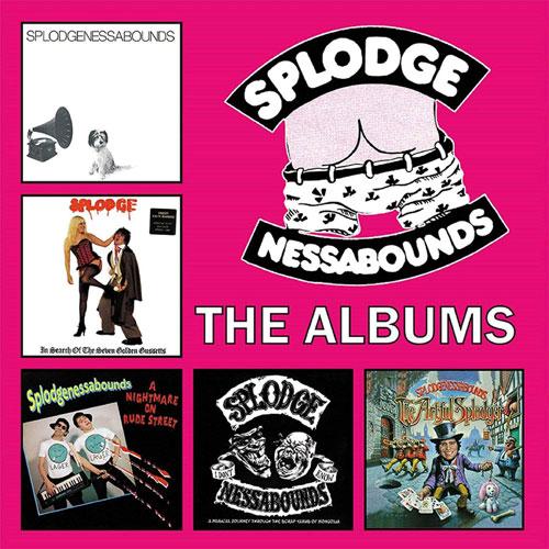 SPLODGENESSABOUNDS / スプロッジネッサバウンズ / ジ・アルバムズ:5CD BOX