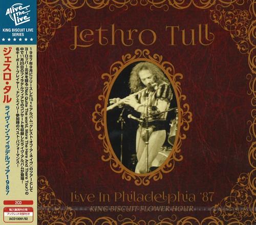 JETHRO TULL / ジェスロ・タル / LIVE IN PHILADELPHIA '87 KING BISCUIT FLOWER HOUR / ライヴ・イン・フィラデルフィア1987