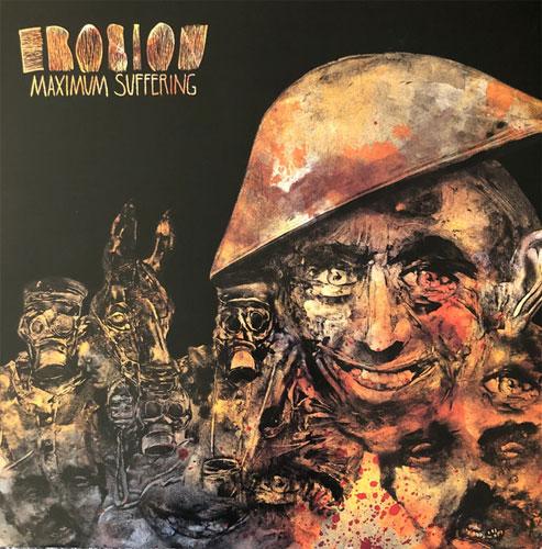 EROSION (PUNK) / MAXIMUM SUFFERING (LP)