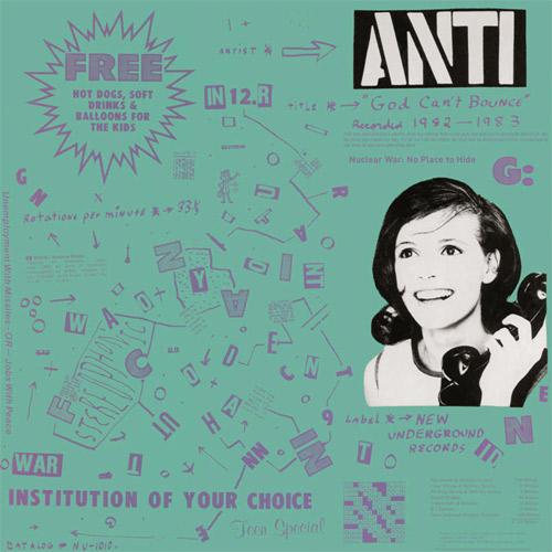 ANTI / アンチ / GOD CAN'T BOUNCE (LP)