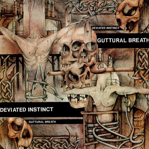 DEVIATED INSTINCT / ディヴィエイテッドインスティンクト / GUTTURAL BREATH (LP/2019 REISSUE)