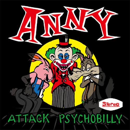 ANNY (JPN/PSYCHOBILLY) / ATTACK PSYCHOBILLY