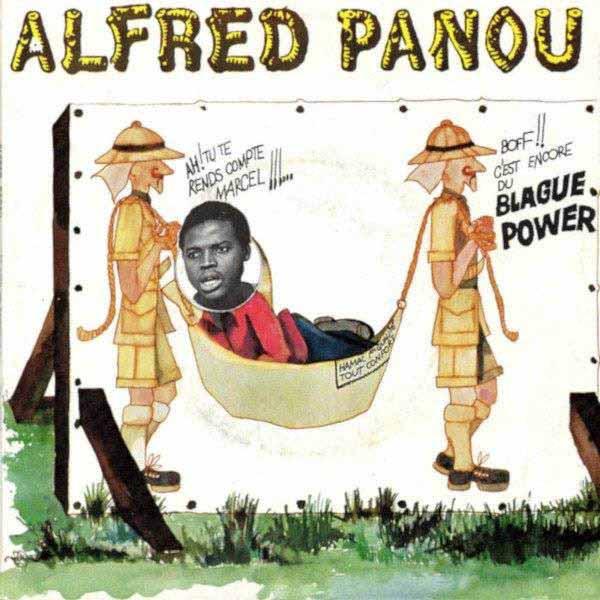 """ALFRED PANOU / アルフレッド・パヌー / Je Suis Un Sauvage / Le Moral Necessaire(7"""")"""