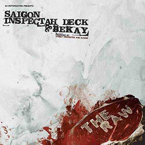 "SAIGON, INSPECTAH DECK & BEKAY / THE RAW ""RED VINYL 7"""