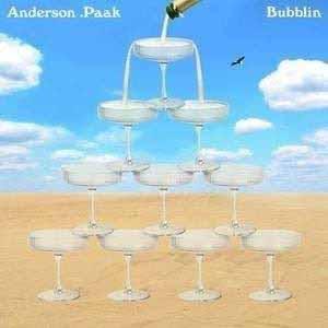 "ANDERSON .PAAK / アンダーソン・パック / BUBBLIN' 7"" (cream-colored vinyl)"