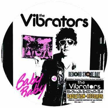 """VIBRATORS / バイブレーターズ / BABY BABY (7"""")"""