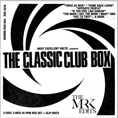 MR.K (DANNY KRIVIT) / CLASSIC CLUB BOX