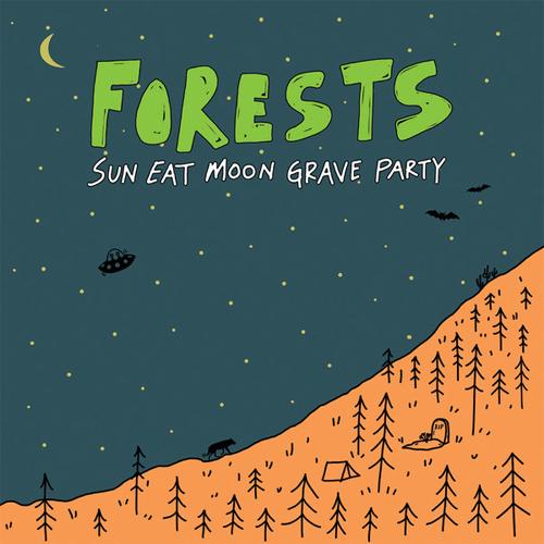 FORESTS / SUN EAT MOON GRAVE PARTY (LP/COLOR VINYL)