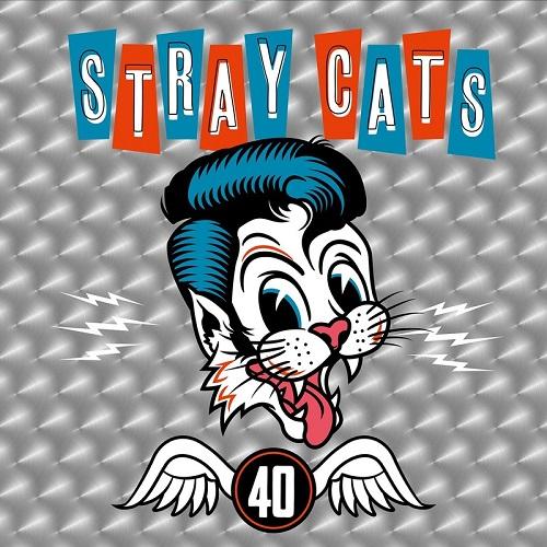 STRAY CATS / ストレイ・キャッツ / 40 (LP/SILVER VINYL)
