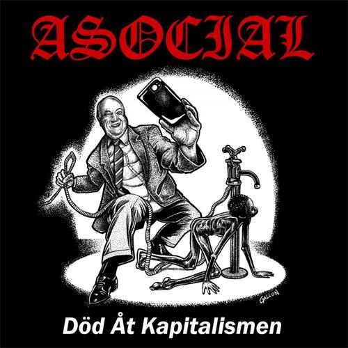 ASOCIAL / アソーシャル / DOD AT KAPITALISMEN